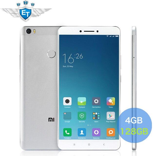 Original Xiaomi Mi Max Pro Prime 6.44 Inch 1080P Cell Phone Snapdragon 652 Octa Core 4GB RAM 128GB ROM 4850mAh 16MP Fingerprint