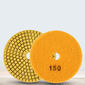 Image 4 - Tamponi Per Lucidatura del diamante Kit 4 pollici 100 millimetri Wet Dry Granito Pietra Marmo Cemento Lucidatura Rettifica Dischi Set