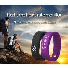 Heart Rate Monitor H5S Смарт-Группы Температура Браслеты Фитнес-Трекер Браслет Спорт Smartband Поддержка Otg телефон и ПК P20