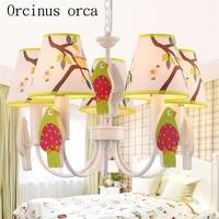 Candelabros modernos y encantadores para habitación de niños  candelabros para habitación de niños  candelabros de jardín de hierro creativos para el Mediterráneo  envío gratis