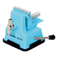 PD-372 Pro'skit Mini Vise Bench Work Clamp Table Machine For Model Fragile Goods DIY Jewelry Craft Mould Fixed Repair Tool цена