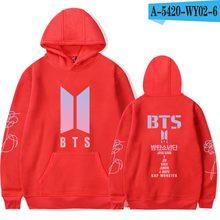 BTS Album LOVE YOURSELF Women Hoodies Sweatshirts K-pop Fans Sweatshirt Streetwear DNA K POP Autumn Winter Clothes Oversized 4XL(China)