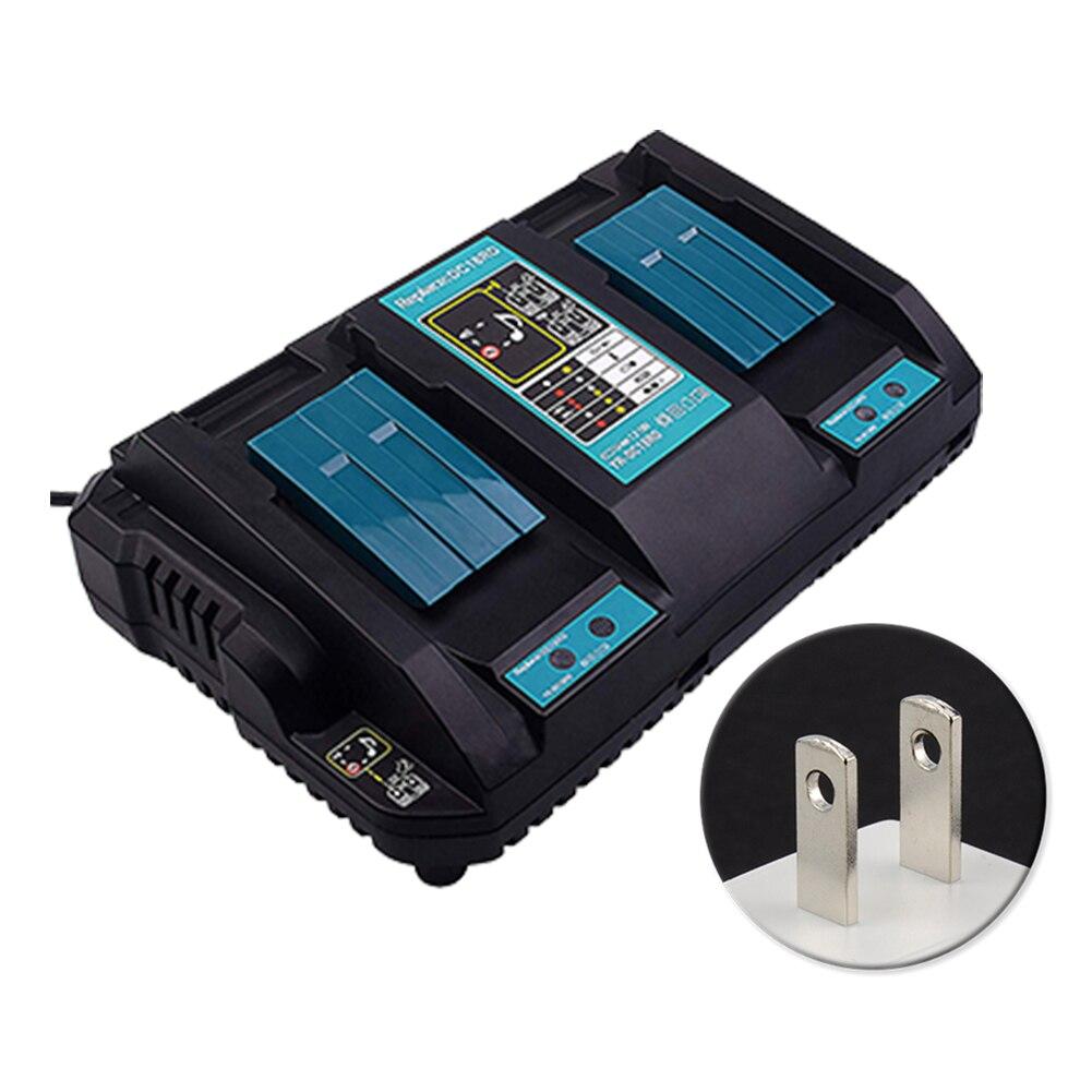 14.4 V 18 V double Port Anti surchauffe rapide USB sortie outil électrique accessoire Durable Li-ion chargeur de batterie Auto pour Makita DC18RD
