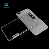 NILLKIN Nature Soft Silicon TPU Cover For Iphone 8 Plus Case Clear Luxury For Iphone 8plus