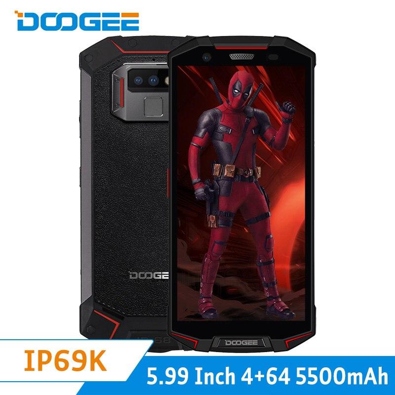 DOOGEE S70 lite Global double 4G 4 GB 64 GB IP68 téléphone étanche Android 8.1 5.99