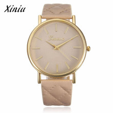 Xiniu Watch Women Casual Roman reloj mujer Leather Band Analog Quartz Wrist Watch Dress women's watch Relogio Feminino #YLYW