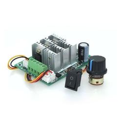 BLDC three phase brushless sensorless motor controller BL01 15A violent fan modulation DC5V6V9V12V36V forward and reverse