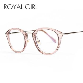 High Quality Frame Fashion Glasses Women Eyeglasses framed Clear Lens
