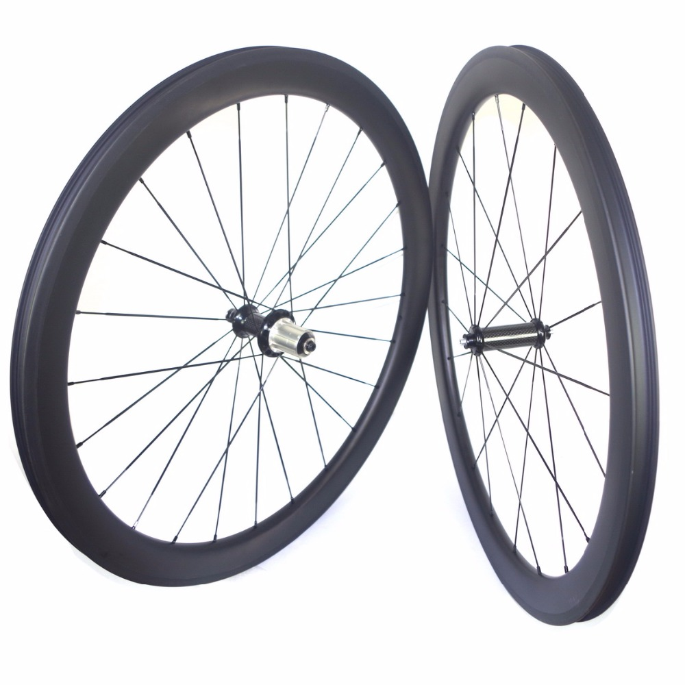 No assemble spoke hole Road bike carbon wheels 38mm 50mm 60mm carbon fiber wheelset tubeless carbon