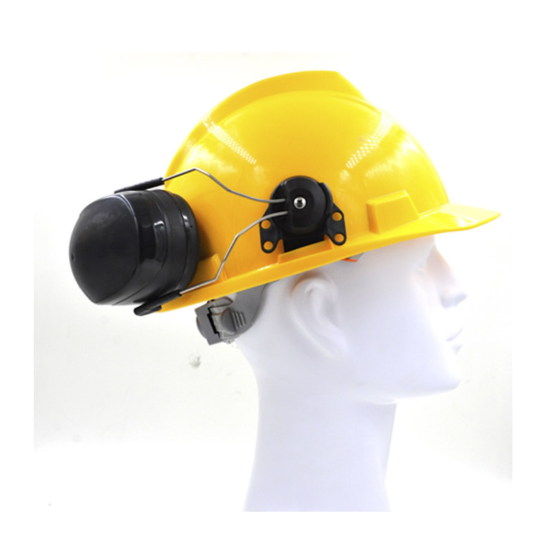 Image 5 - New Anti noise On Helmet Earmuffs Ear Protector For Safety Helmet Cap Use Factory Construction Work Safety Hearing Protection-in Ear Protector from Security & Protection