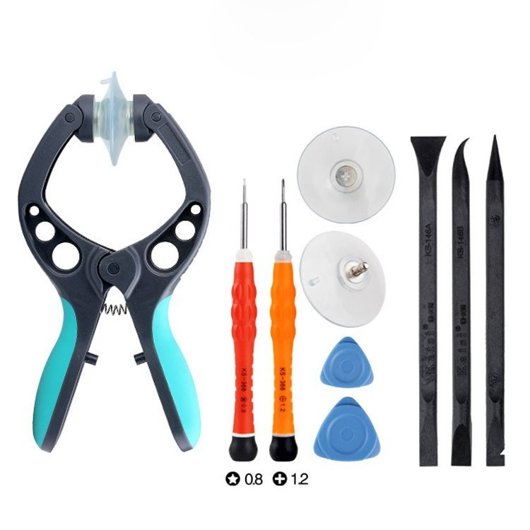 10 in 1 iphone8 opening screen Sucker tool Disassemble Kit Suction screen device Replace screen Demolition phone Repair Tools