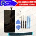 Elephone P9000 Pantalla LCD Con El Montaje Del Digitizador de la Pantalla Táctil 100% Original Accesorios de Reparación De P9000 + herramientas + adhesivo