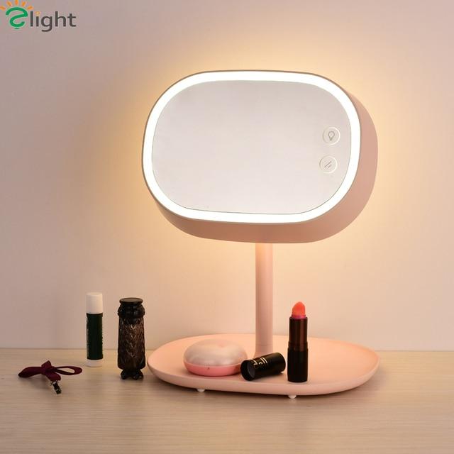 creative bedroom lighting. modern simple rotatable mirror led table lamp creative bedroom light lights novelty lighting