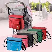 Insular Stroller Bag Thermal Insulation Nappy Bag Multifunctional mommy bag baby diaper wet bag baby groot bolsa maternidade