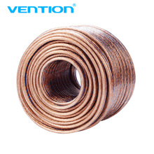 Vention Loud Speaker Cable Hi-Fi Audio Cable Oxygen Free Copper 2*500 core Speaker Wire for Amplifier Home theater KTV DJ System