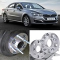 4pcs 5X108 65.1CB 25mm Thick Hubcenteric Wheel Spacer Adapters For Peugeot 508/407/607