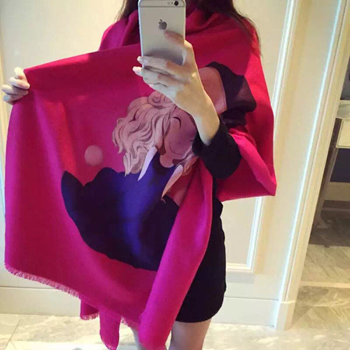 2016 new design Korean fashion shawl Europe Scarves men and women couple new winter warm cashmere
