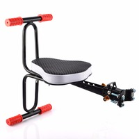 Children Bicycle Seat Quick Release Seat Bike Saddle For Kids Ciclismo Safety Seat With Armrest Pedal