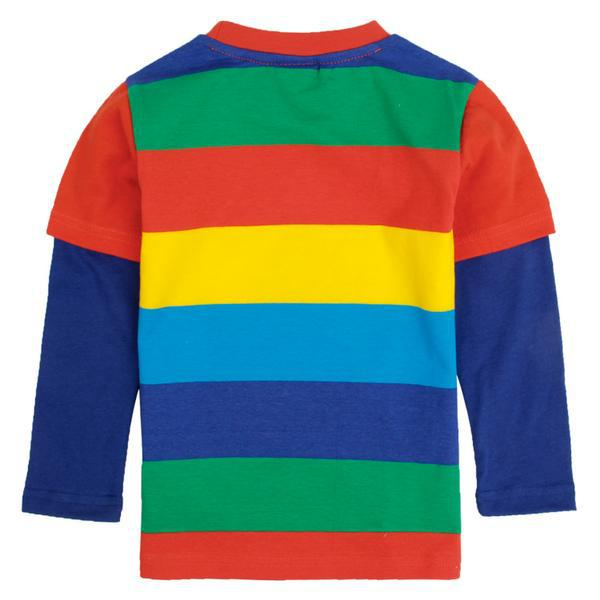 f8fe35295 children clothing Autumn tops baby boy tees long sleeve t shirts minion  rainbow color print picture nova brand boys clothes-in T-Shirts from Mother  & Kids ...