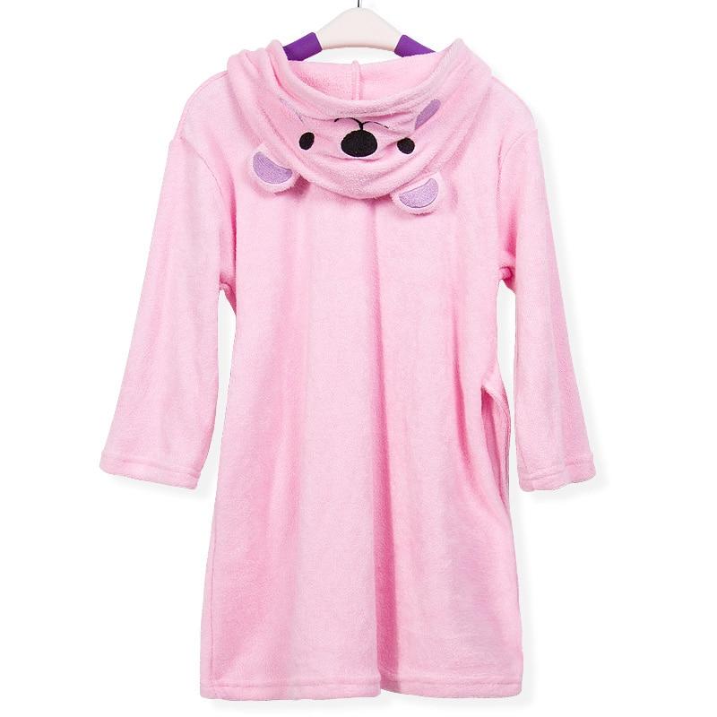 Hot Sale Baby Bathrobes For Children Coral Velvet Bathrobes Dressing