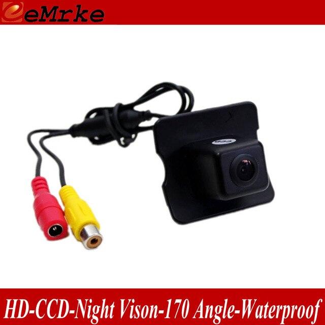 eeMrke Rearview Reverse Camera For Mercedes Benz ML450 ML350 ML300 ML250 ML63 AMG HD CCD Pre-hole Camera