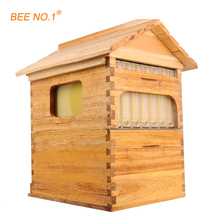 BEE NO.1 Beekeeping Tool Wooden Beehive Langstroth Bee Hive Honey Flow Hive 7 PCS Frames Beehive 65*55*23cm Beekeeping Tool