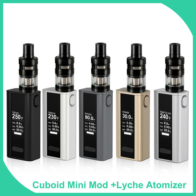 Full Kit 80W 2400mAh Builtin Battery Vape Electronic Cigarette with Lyche
