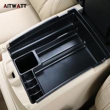 Aitwatt для Nissan X-Trail T32/Rogue 2014 2015 2016 Пластик центральной хранения паллет подлокотник контейнер box car укладка Уборка