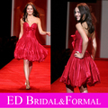 Camilla Belle Prom Dress Taffeta Sweetheart Puffy Ball Gown Celebrity Cocktail Gown