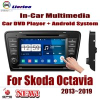 For Skoda Octavia (5E) 2013~2019 Car Android Player DVD GPS Navigation System HD Screen Radio Stereo Integrated Multimedia