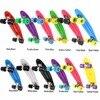 New Retro Classic Cruiser Style Skateboard Complete Deck Plastic Skate Board 12