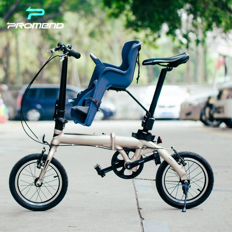 silla bebe niño para bici plegable