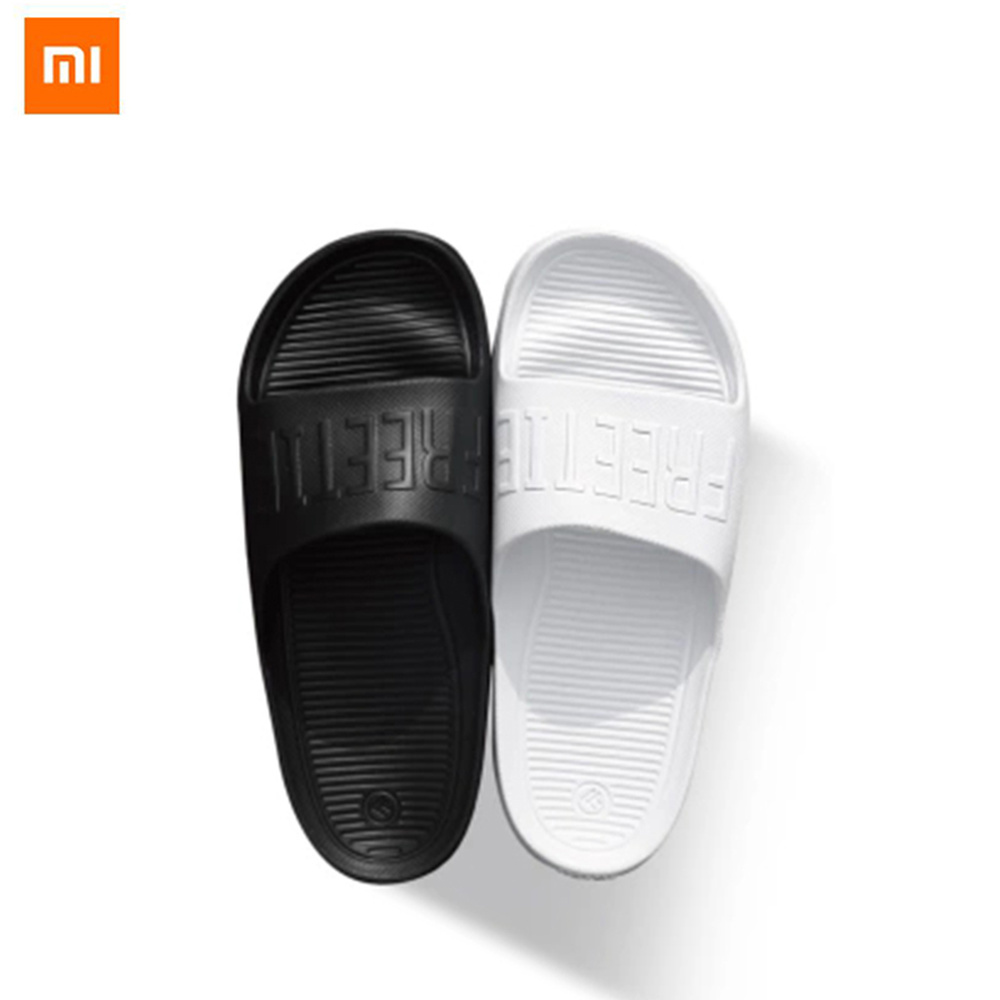 Original Xiaomi Personality Trend Sports Slippers Couples Comfort BreathableHome Slippers Non-slip Design Elastic EVA Material(China)