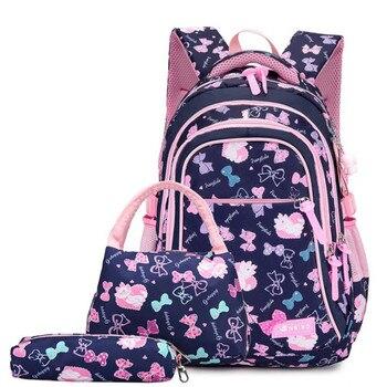 School Bags children backpacks For Teenagers girls Lightweight waterproof school bags child orthopedics schoolbags Boys фото