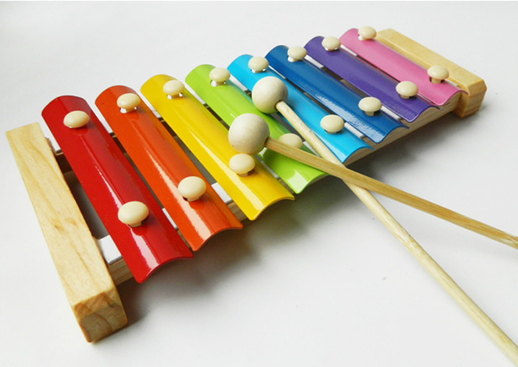Wooden Rainbow Xylophone Sticks ~ Popular metal xylophone buy cheap lots