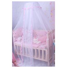 Baby Mosquito Net Canopy Netting Toddler Crib Bed Cot Nursery Drape Dome(China)