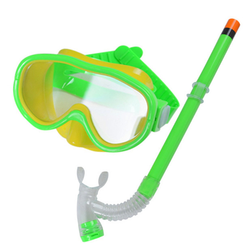 2018 New Unisex Children Underwater Scuba Anti Fog Full Face Diving Mask Snorkeling Set Respiratory Masks Safe and waterproof