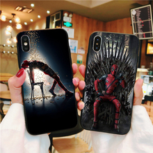 цена на Marvel Comics Deadpool Ryan Reynolds Soft TPU Cover Phone Case for iPhone XS SE 5 5S 6 6S Plus 7 8 Plus X XR XS MAX