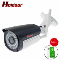 Built In 64GB Memory Card Outdoor 1080P IP Camera Wireless Wifi HD IR Night Vision Waterproof