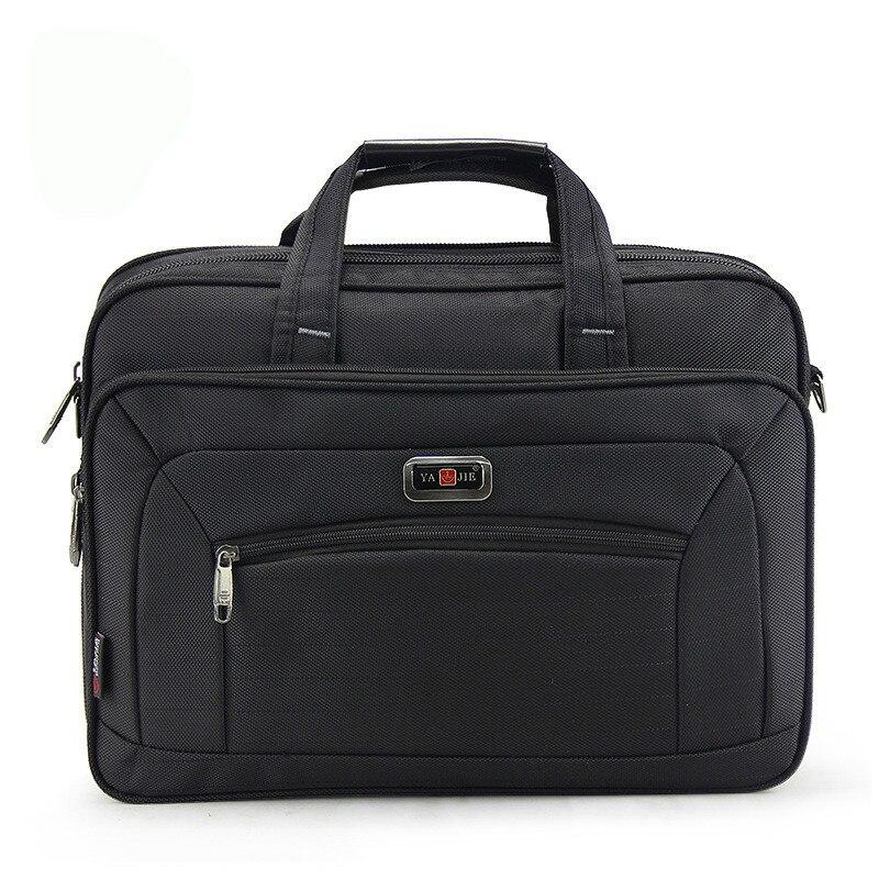 15 Inches Brand Waterproof Nylon Laptop Briefcase Men Bag Travel Suitcase Business Laptop Men's Briefcase Bolsa Masculina