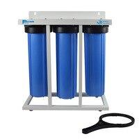 Trois Étape Grand Bleu Système De Filtration D'eau de Toute la Maison-1