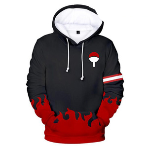 Image 5 - Japan Anime Naruto Akatsuki Red Cloud 3D Print Hoodie for Men Women Hooded Sweatshirt Winter Fashion Casual Tracksuit Cool Tops