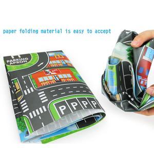 Image 5 - Enfants bricolage voiture Parking carte jouets 83x58CM bébé escalade tapis de jeu enfants jouets ville Parking carte routière carte cadeau de noël