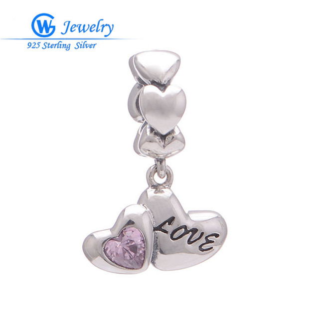 handmade with love charm for jewelry making breloques en argent i love you to the moon and back GW Fine Jewelry S151H30