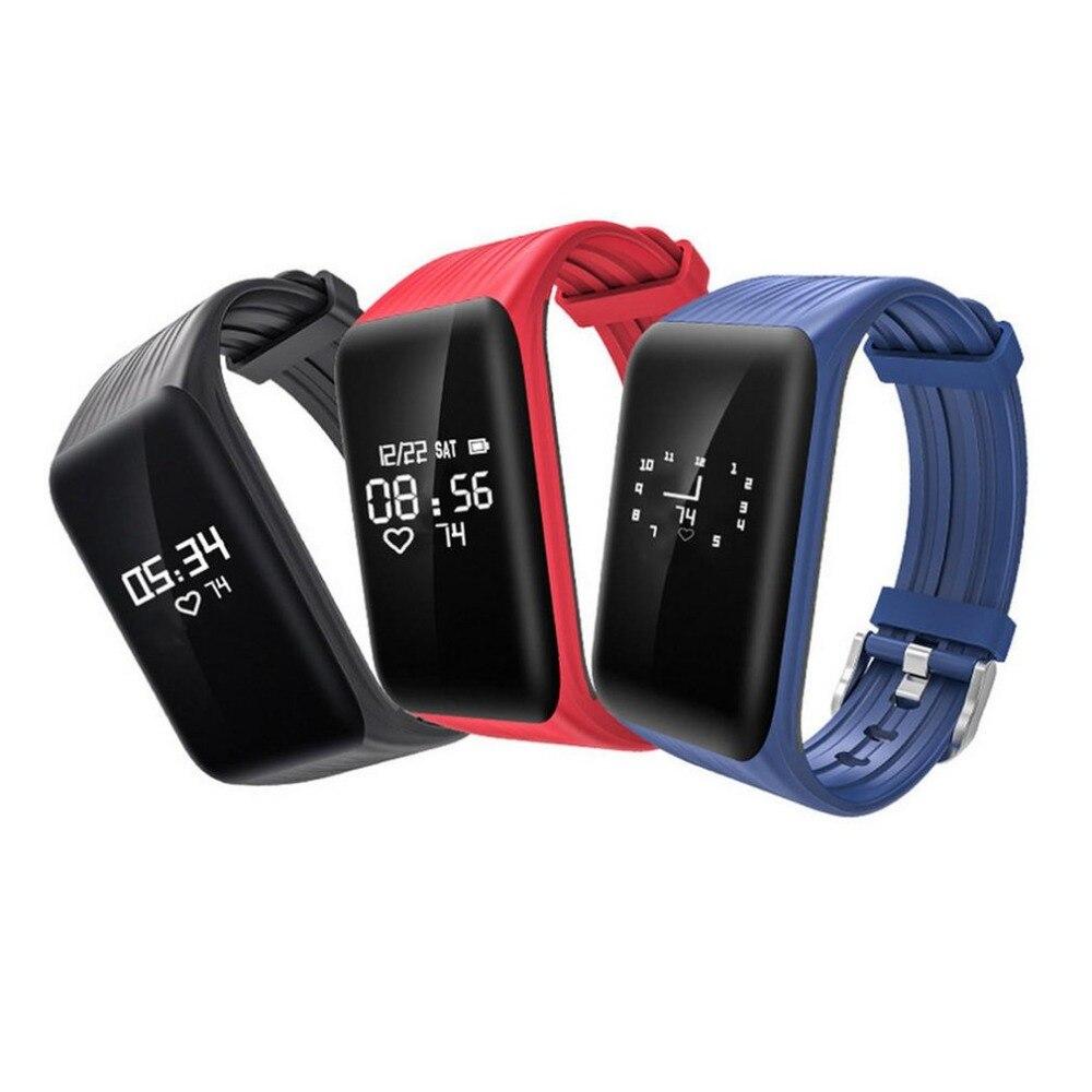 Women Watch Wristband Heart-Rate-Monitor Fitness Inseguitore Sport Men's IP68 Smart Braccialetto