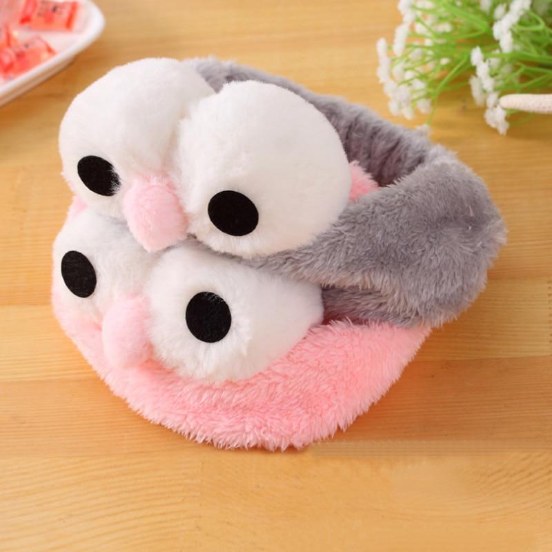 Leuke tulband Koreaanse grote ogen gorgelen Bad hoofdband Gezicht wassen Haarbanden SPA Make-up Elastische zachte hoofdbanden