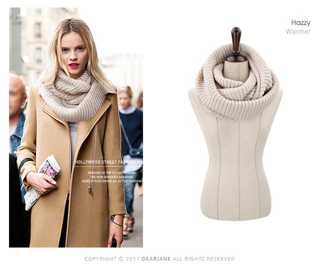 2014-New-hot-fashion-style-Unisex-Winter-knitting-Wool-Collar-Neck-Warmer-woman-Ring-Scarf-desigual (1)