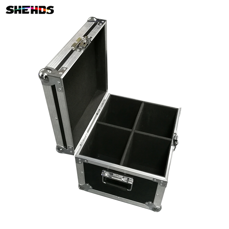 Flight Case with 2/4 pieces LED Beam Double Sides 1x10W+1x10W Lighting for Disco KTV Party Fast Shipping,SHEHDS