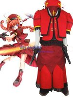 Magical Girl Lyrical Nanoha Vita Cosplay Costume Freeshipping