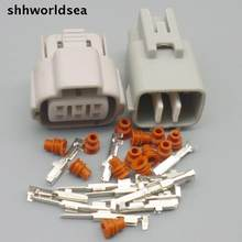 Shhworldsea 6 pin 6Way auto elektrische stecker 6Pin TS Gaspedal Automotive stecker Für Toyota 6188-0175 6189 -0323(China)
